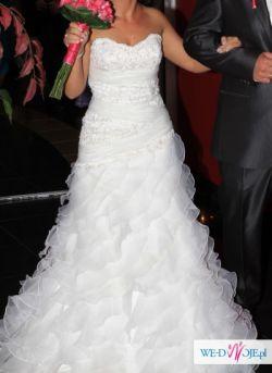 śliczna suknia hiszpanka
