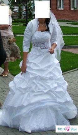 Śliczna suknia IRMINA z kolekcji Anny Skrzyszowskiej