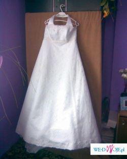 Śliczna suknia jednoczęściowa, r. 38 Najtaniej :)