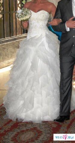 Śliczna suknia Maggio Romatti z salonu CYMBERLINE