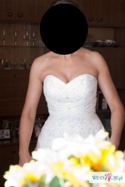 Śliczna suknia Mori Lee 2105 w okazyjnej cenie