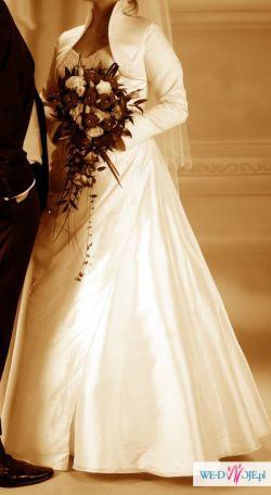 Śliczna suknia ślubna!!!!!!