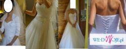 sliczna suknia slubna 2012 dla szczuplej osoby