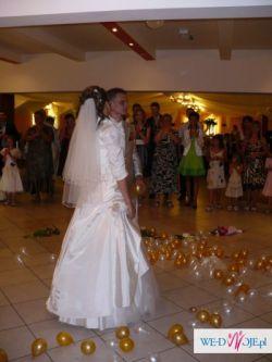 Śliczna Suknia Ślubna + 5 GRATISÓW !!! :D