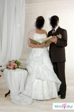 Śliczna suknia ślubna!!