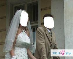 Śliczna suknia ślubna Agora