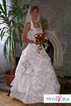 Śliczna suknia slubna Agora