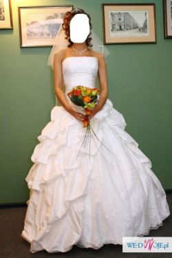Śliczna suknia ślubna amerykańskiej firmy Sincerity Bridal model 3296