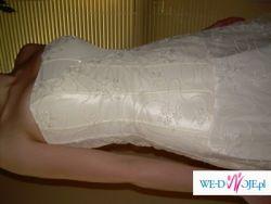 Sliczna suknia slubna Cymbeline - rozm. 36