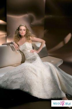śliczna suknia ślubna DEMETRIOS 973