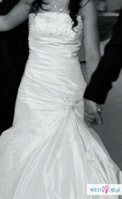 Śliczna Suknia Ślubna do sprzedania !