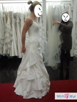 śliczna suknia ślubna Elianna Moore niezniszczona