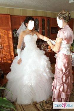 Śliczna suknia ślubna EMMI MARIAGE DIAMANTE