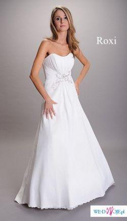 Sliczna suknia ślubna firmy Afrodyta model Roxi
