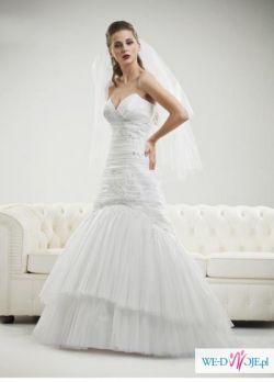Śliczna suknia ślubna firmy Antra rozm. 36