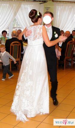 Śliczna suknia ślubna GALA model RIKA rozm.38