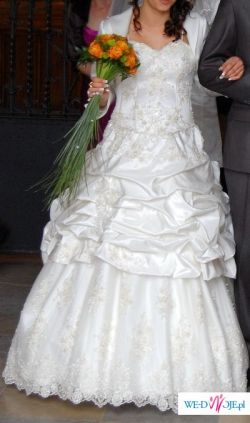 """Śliczna suknia ślubna """"julia"""""""