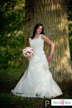 Śliczna suknia ślubna Julia Rosa rozmiar 38, Złotów