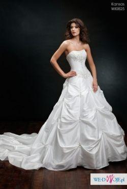 Śliczna suknia ślubna Kraków