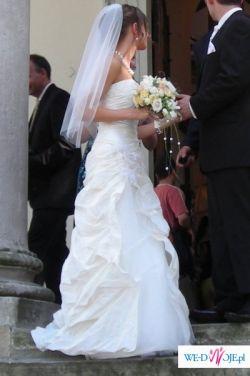 Śliczna suknia ślubna LINEA RAFFAELLI rozm.34