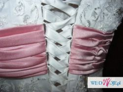 Śliczna suknia ślubna Lisa Donetti