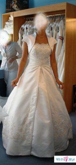Śliczna suknia slubna Lugonovias - Promesa roz.38, stan idealny