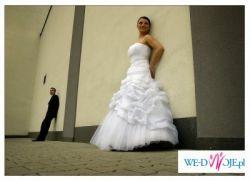 "Śliczna suknia slubna - model ""VANESSA"""