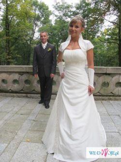 Śliczna suknia ślubna MS Moda, model Oliwia