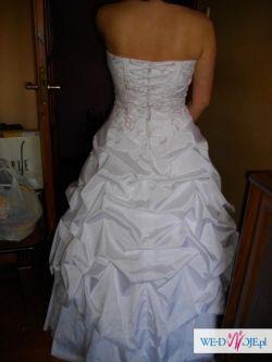 Śliczna suknia ślubna na sprzedaż!!