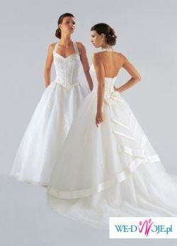 Śliczna Suknia Ślubna NIEUŻYWANA NOWA USA