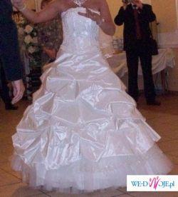 ***śliczna suknia ślubna*** OKAZJA!!!!!!!!