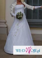 sliczna suknia ślubna!!! Okazja!!!