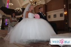 Śliczna suknia ślubna Princessa