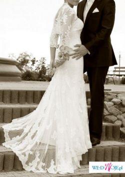 Śliczna suknia ślubna Pronovias Lorna
