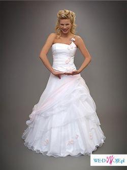 śliczna suknia ślubna prosto z salonu