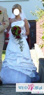 śliczna suknia ślubna r 38