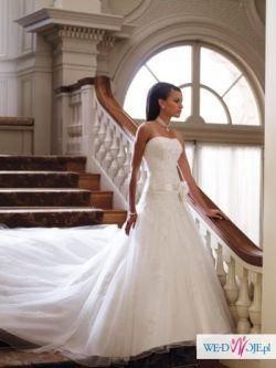 Sliczna suknia ślubna r36 MON CHERI JOLIE 29245