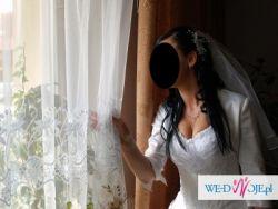 Śliczna suknia ślubna rozm.38