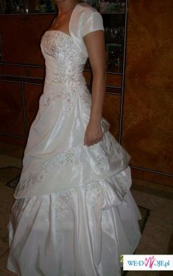 sliczna suknia slubna rozmiar 36