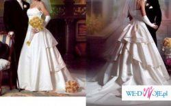 Śliczna suknia ślubna SINCERITY model 2990