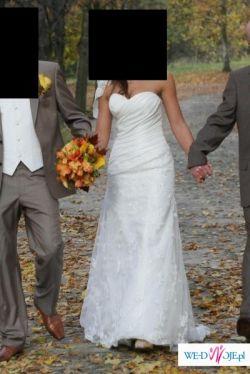 Śliczna suknia ślubna SWEETHEART 5830