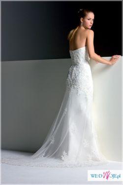 Śliczna suknia ślubna Sweetheart rozm36