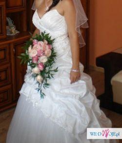 Śliczna suknia ślubna TANIO