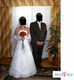 śliczna suknia ślubna -TANIO
