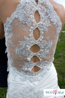 Sliczna suknia ślubna, tanio!!!