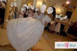 Śliczna suknia ślubna- tanio!