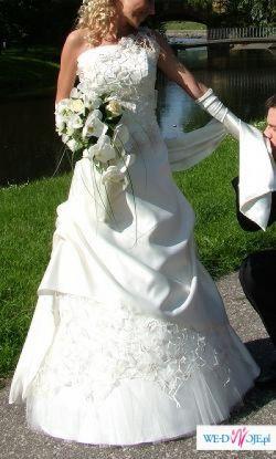 Śliczna suknia ślubna- Włocławek