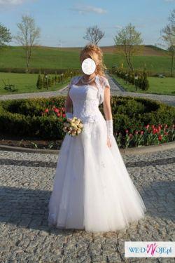 Śliczna Suknia ślubna z Cymbeline - Kielce