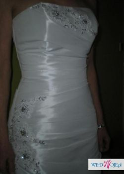 Śliczna suknia ślubna z dodatkami !!!