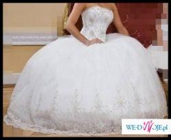 Śliczna Suknia ślubna z firmy ANGEL